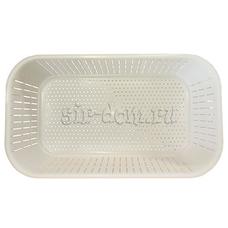 Корзинка прямоугольная для мягких сыров и творога на 2 кг